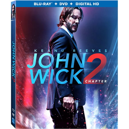 John Wick  Chapter 2  Blu Ray   Dvd