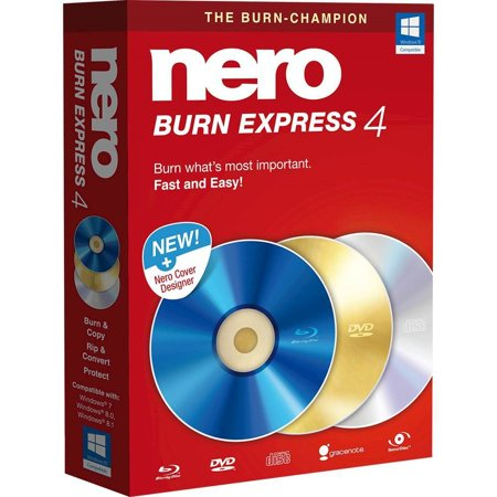Nero Burn Express 4 Burning Software (Burning Dvd Software)