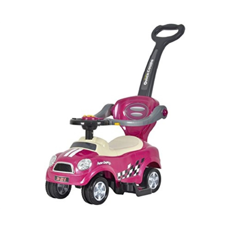 best ride on cars mini 3 in 1 push car purple by Overstock
