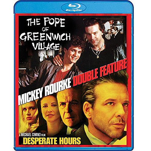 Mickey Rourke: The Pope Of Greenwich Village / Desperate Hours (Blu-ray) (Widescreen)