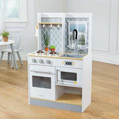 Kidkraft Let\'s Cook Wooden Play Kitchen