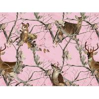 Realtree Pink Fabric, per Yard