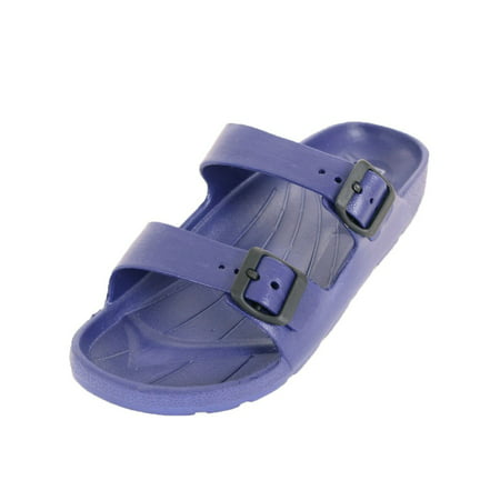 Easy USA Men's Classic Double Strap Buckle - Finn Classic Sandals