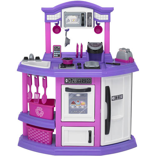 American Plastic Toys Baker's Kitchen ft. light up burner with sound!