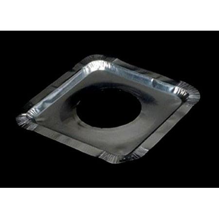 Durable Packaging Square Aluminum Foil Gas Liners - Disposable 8.5