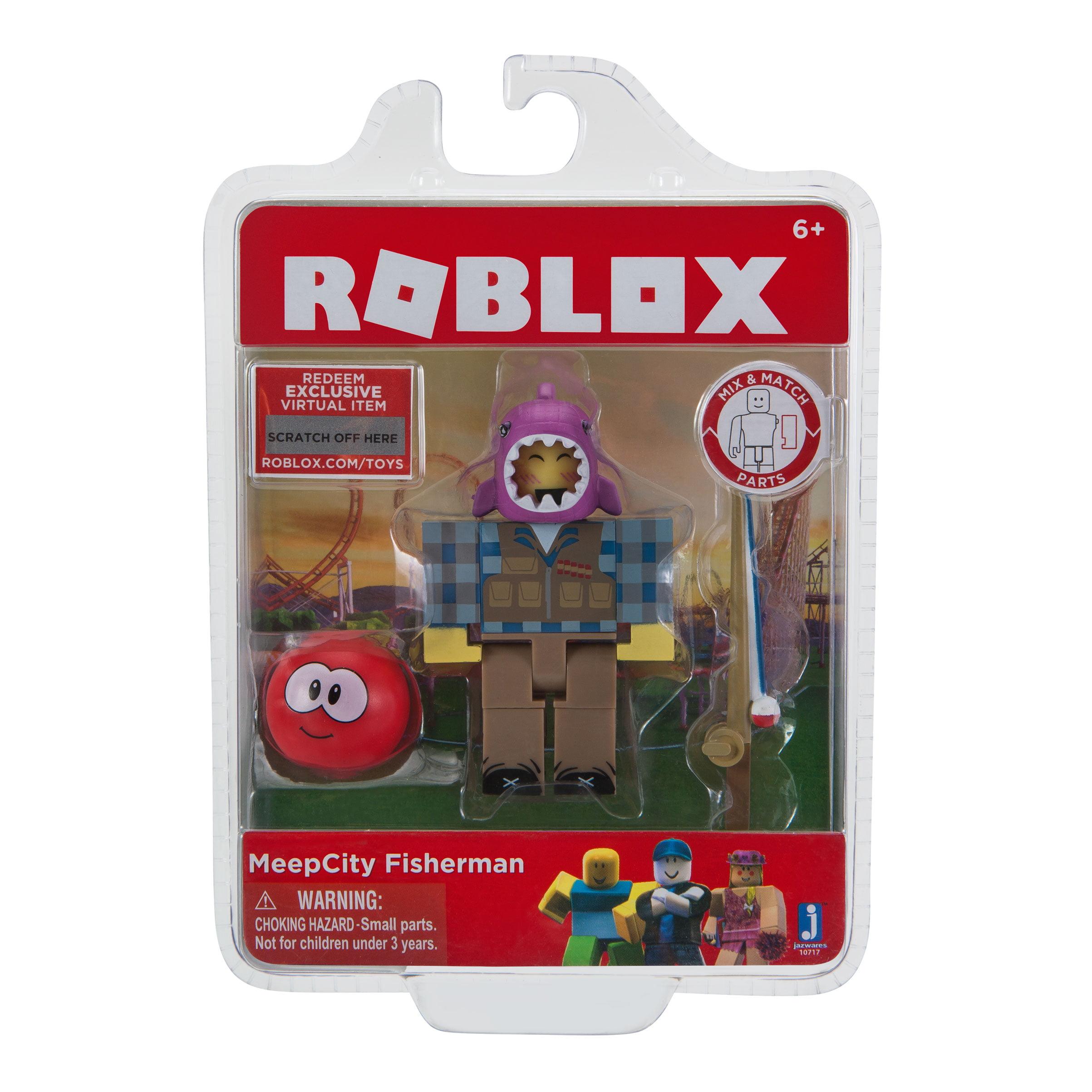 Roblox Meepcity Fisherman Figure Pack Walmart Com