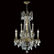 Worldwide Lighting Windsor 12-Light Crystal Chandelier