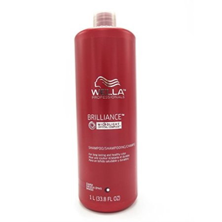 brilliance shampoo for coarse colored hair for unisex, 33.8
