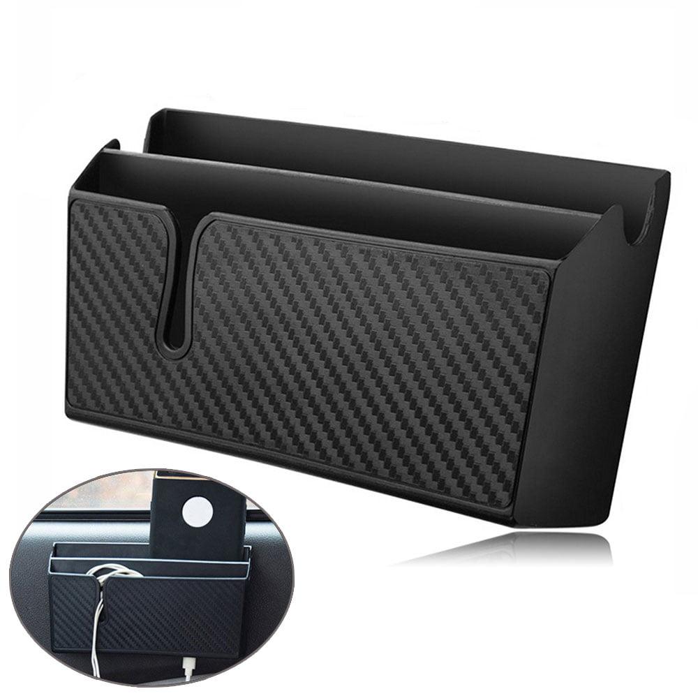 EEEkit PVC Car Organizer Pocket with Double-Layer Sticke, Car Seat Side Organizer, Car Interior Accessories