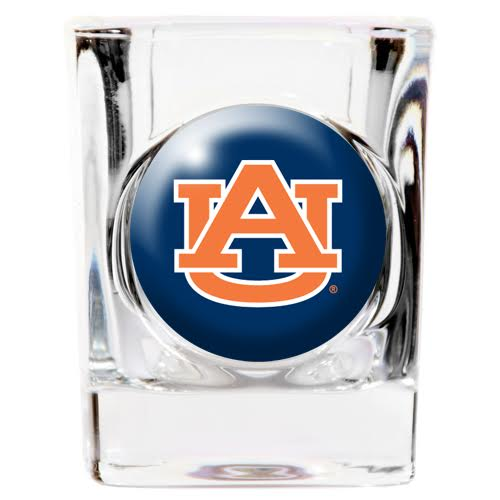 Auburn Tigers Square Shot Glass - 2 oz.