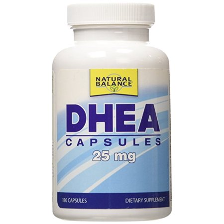Natural Balance - DHEA, Capsule (Btl-plastique) 25mg 180ct