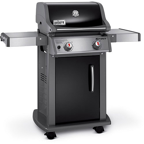 Weber Spirit E-210 2-Burner Gas Grill, Black