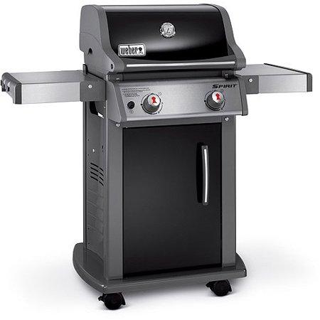 weber spirit e 210 2 burner lp gas grill black. Black Bedroom Furniture Sets. Home Design Ideas
