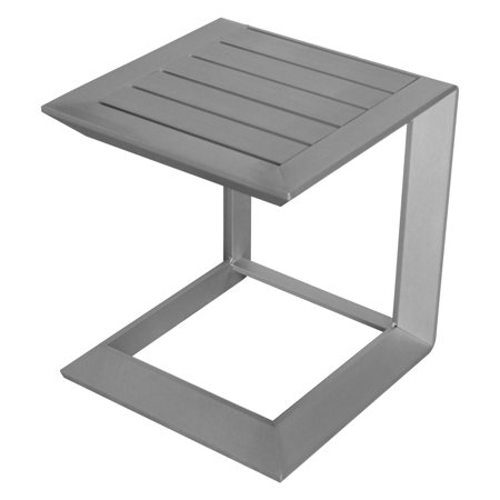 Pangea Home Leaf Aluminum Patio Side