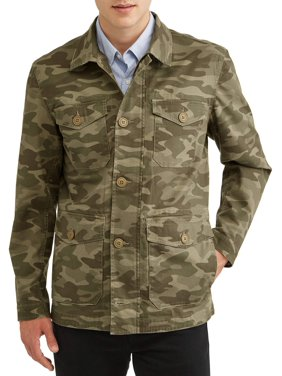 George Men's Field Jacket, up to size 3XL