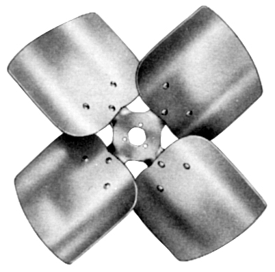 60558501 4 blade, CW 18 dia., 33 pitch propeller