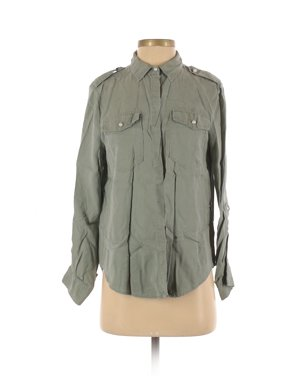 Pre-Owned Marc New York Women's Size XS Long Sleeve Button-Down Shirt