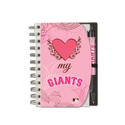 Deluxe Hardcover 4X6 Pink Notebook & Pen Set (Grip