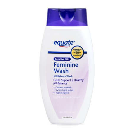 Equate Sensitive Skin Feminine pH Balance Wash, 12 fl