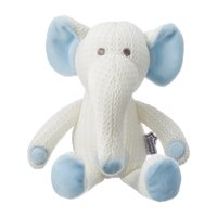 Tommee Tippee Hypoallergenic Stuffed Animal Breathable Toy, Eddy the Elephant – 0+ months