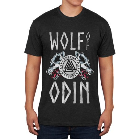 Wolf Of Odin Mens Soft T - Mens Wolf