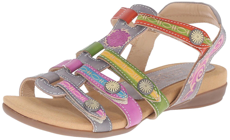 L'Artiste by Spring Step Women's Gipsy Flat Sandal by L'Artiste by Spring Step
