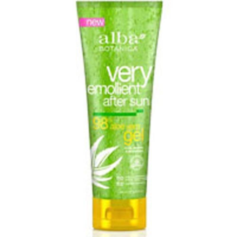 Gel Aloe Vera After Sun 8, After Sun Gel 98% Aloe Vera, 8 Oz by Alba Botanica (Pack of 3) By Alba Botanica