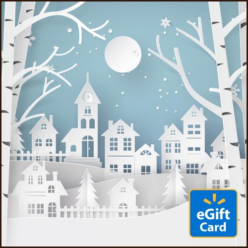 Snowscape Walmart eGift Card