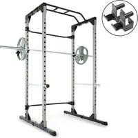 Progear 1600 Ultra Strength 800lb Weight Capacity Power Rack Cage Deals