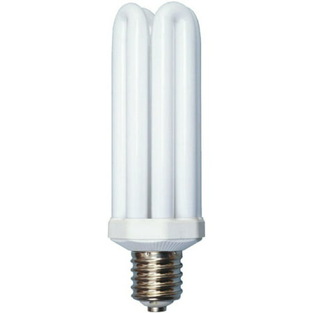 Designers Edge L765 65-Watt Fluorescent Bulb Replacement, Equivalent to 300 Watt Incandescent, Style 4U, Mogul Base