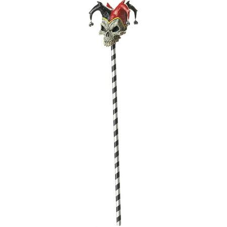 Jester Skull Cane Halloween - Halloween Skull Cups