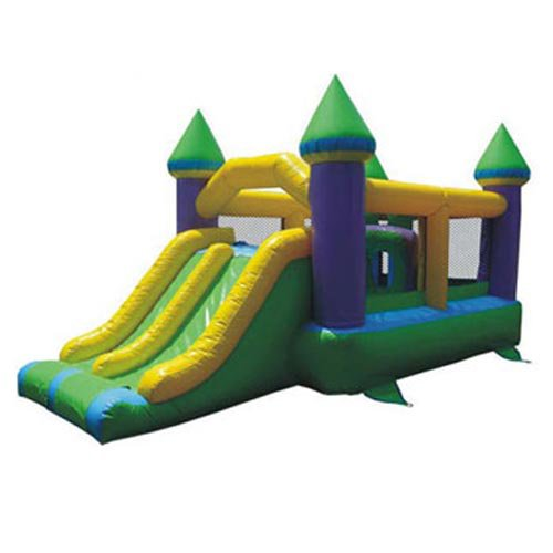 Commercial Super Bounce and Slide Castle Inflatable
