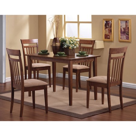 - Coaster Company Oakdale Nutmeg 5pc Dinette Set