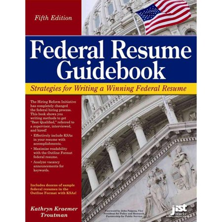 federal resume guidebook strategies for writing a winning With federal resume guidebook