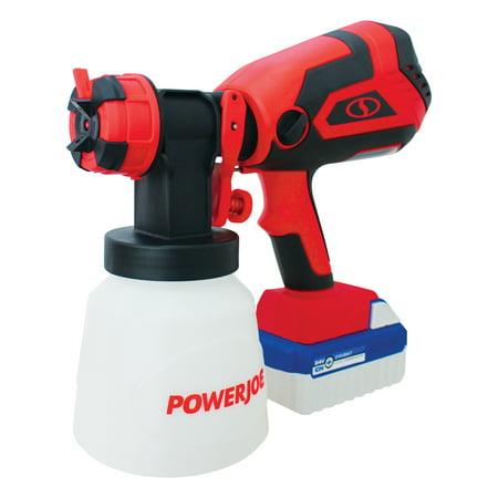Sun Joe 24V-PS1 Cordless HVLP Handheld Paint Sprayer | 24-Volt | 4.0-Ah | Included