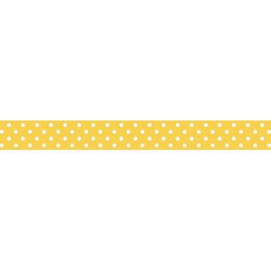 Doodlebug 15 mm Bumblebee Swiss Dot Washi Tape