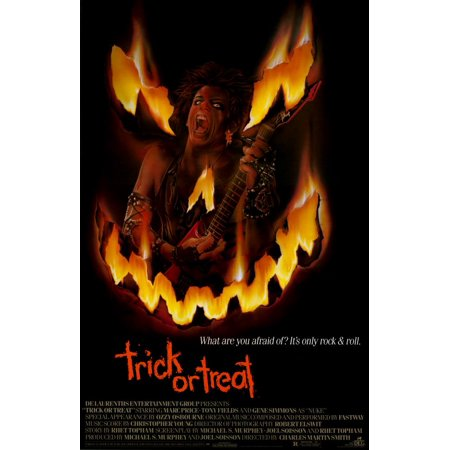 Trick or Treat (1986) 11x17 Movie Poster](Trick Or Treat Halloween Posters)