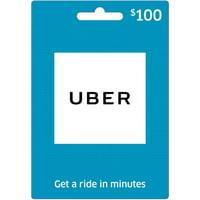 $100 Uber Gift Card