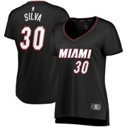 Chris Silva Miami Heat Fanatics Branded Women's Fast Break Replica Player Jersey - Icon Edition - Black