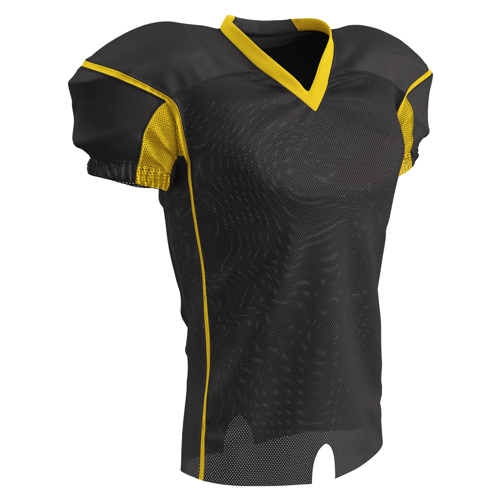Marker Fitted Football Jersey XL White,Graphite Adult