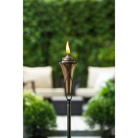 - TIKI® Brand 65-Inch Kiawah Metal Torch Copper