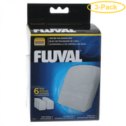 Fluval Fine Water Polishing Pad For Models 304, 305, 306, 404, 405 & 406 - Pack of 3