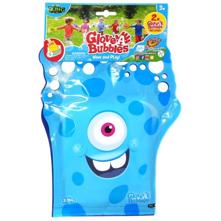 Glove A Bubble Blue & Purple Monsters 2-Pack