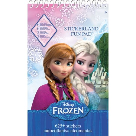 Stickerland Activity Pad - Disney Frozen - 16 pages Toys Stationery New st9015 (Frozen Stickers)