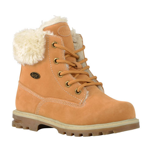 Children's Lugz Empire HI Fur Work Boot Youth by