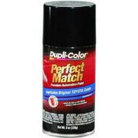 Duplicolor BTY1566 Perfect Match Automotive Paint, Toyota Black Metallic, 8 Oz Aerosol Can