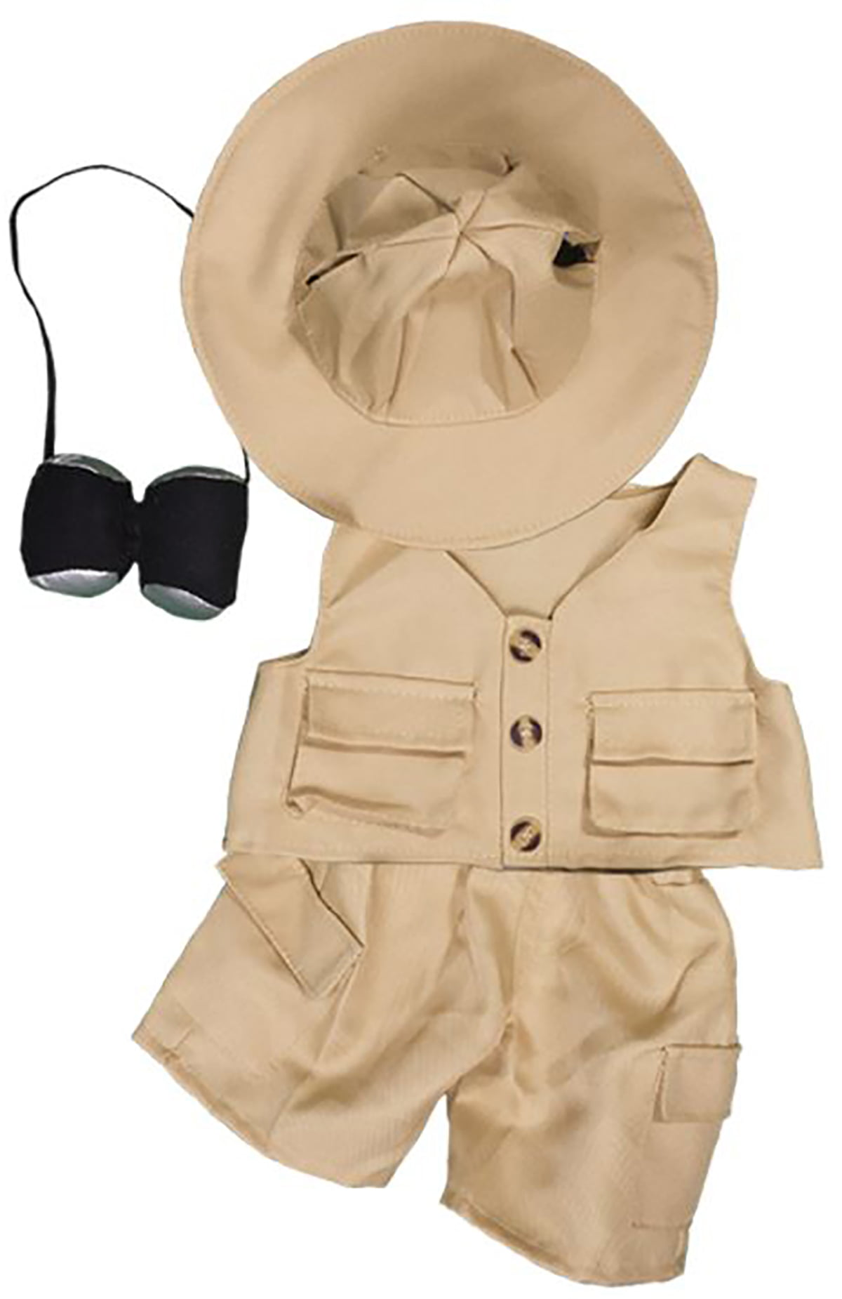 """Safari Outfit Teddy Bear Clothes Fits Most 8""""-10"""" Build-A-Bear Buddies and Make Your Own Stuffed... by Teddy Mountain"""