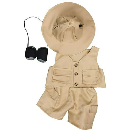 Teddy Bear Outfit For Dogs (Safari Outfit Teddy Bear Clothes Fits Most 8
