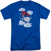 Airplane Picked The Wrong Day Mens Big and Tall Shirt
