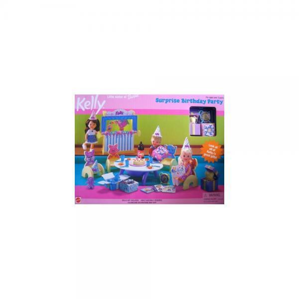 Mattel Barbie Kelly Surprise Birthday Party Playset (1999)